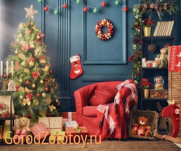 Современные новогодние украшения интерьера – пора готовиться к долгожданным праздникам!