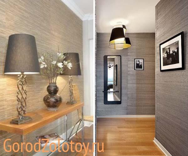 Современные идеи обоев для прихожей 48 фото советы по оформлению и выбор стиля интерьера варианты интересного дизайна для коридора 2020